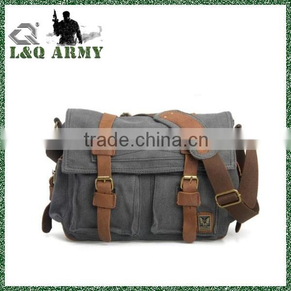 Men's Shoulder canvas military bag