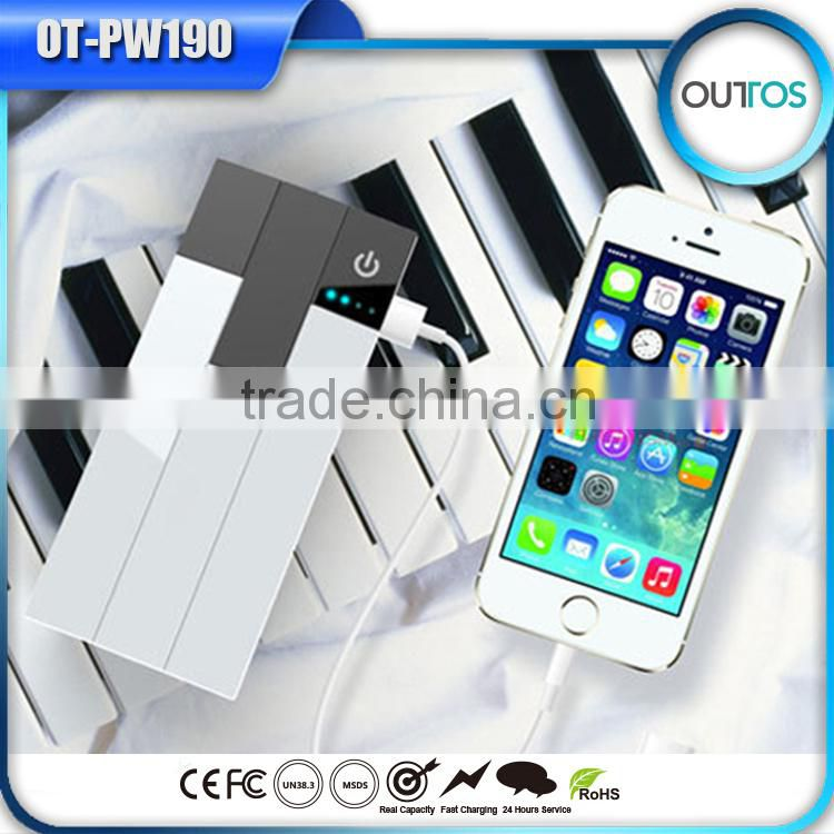 new arrival piano design 10000mah quality products mobile power bank