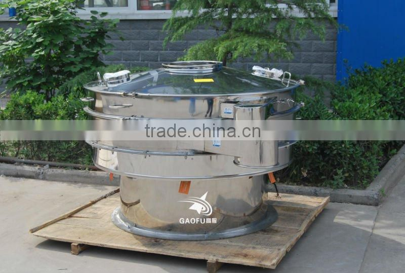 Vibrating sieve screen for dextrin powder