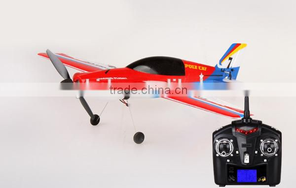 Newest 2.4Gz remote control plane for rc model airplane Wl toys F939