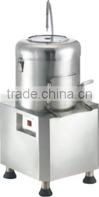 Stainless steel potato chips cleaning peeling and cutting machine,automatic potato peeling machine PP30A