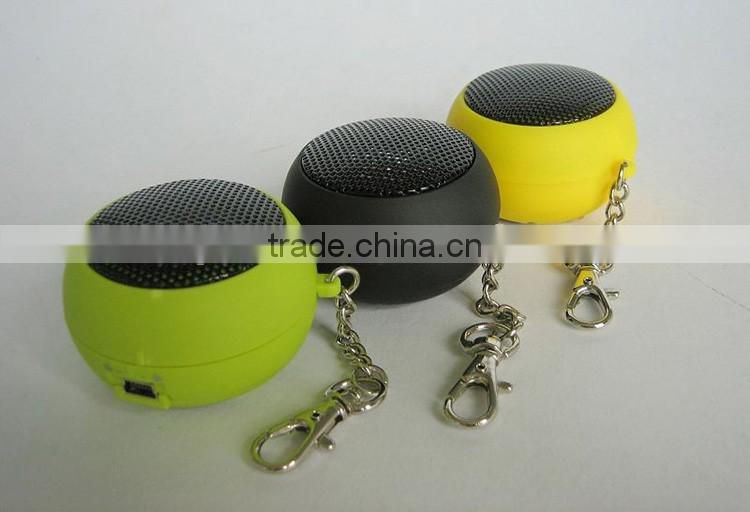 New hot selling cheap portable mini hamburger speaker for promotion gift