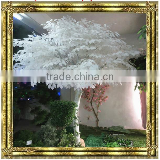 wholesale landscape trees white banyan tree artificial live ficus tree ornamental indoor plants