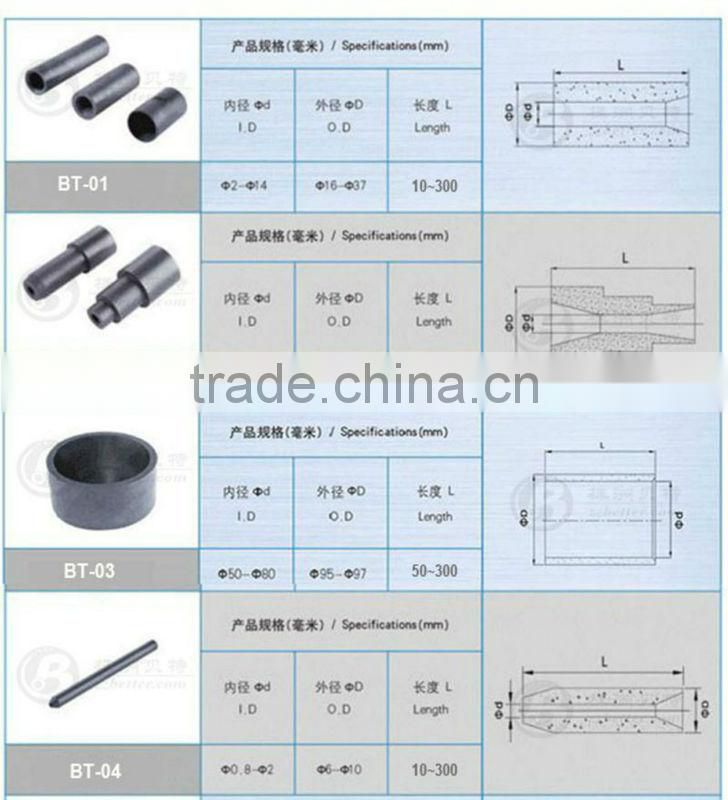 sintered carbide waterjet spare parts