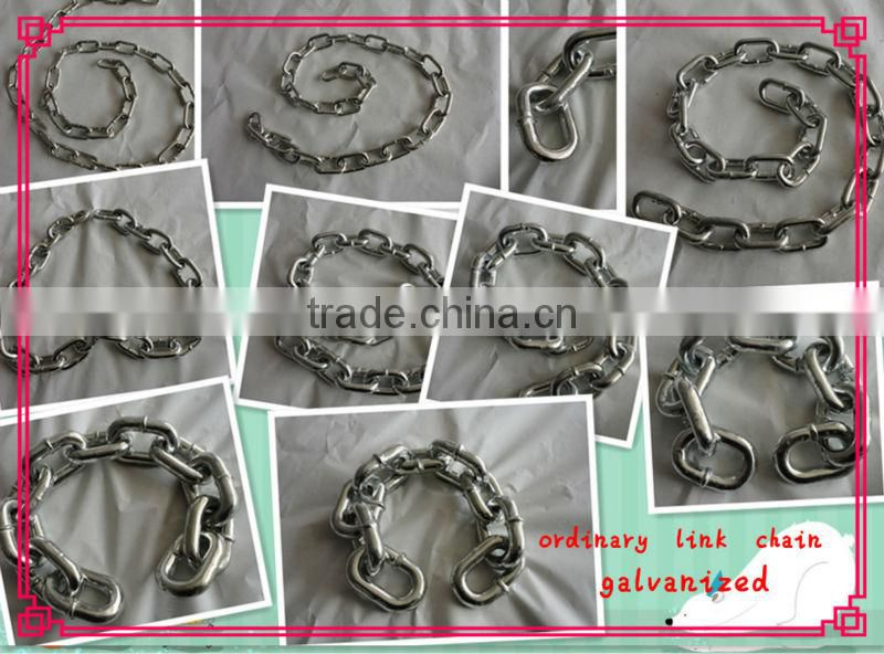 chinese ordinary mild steel link chain factory