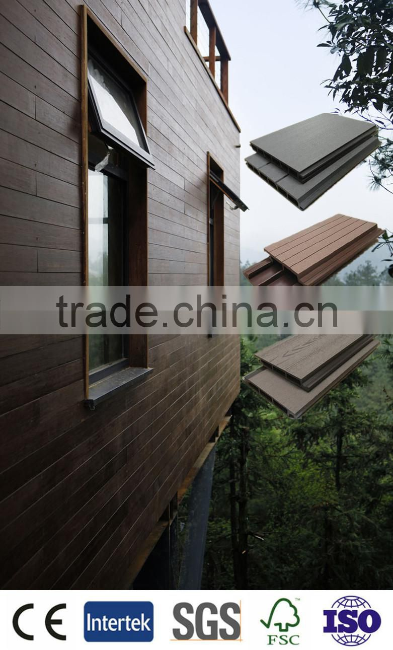 plastic wood facade panel Easy installation,dealers of wall panel,wpc wall panel with construction materials