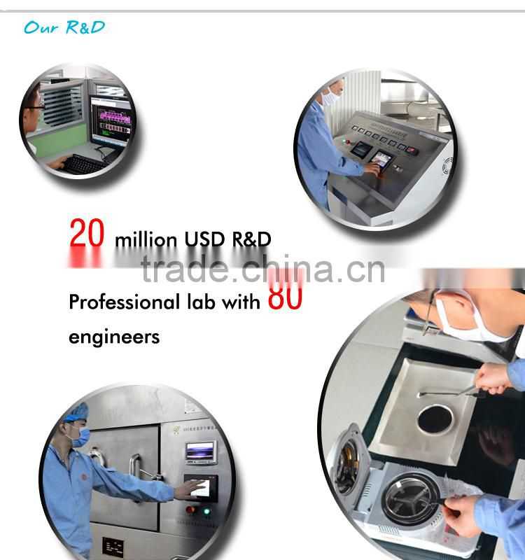 batch type microwave vacuum dehydration machine
