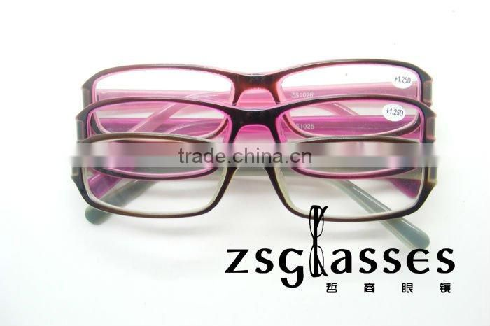 2012cheap promotion custom made design optics reading glasses