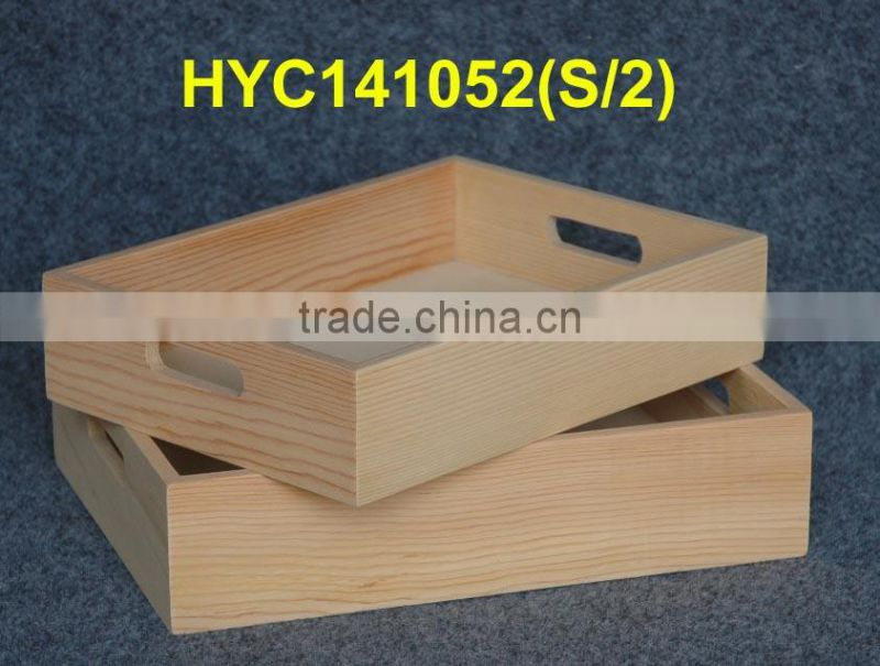 promotional high quality wooden servig tray