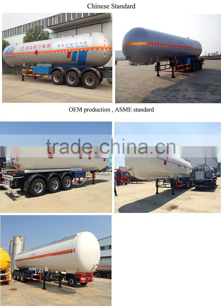 different size lpg transport trailer sale for saudi arabia