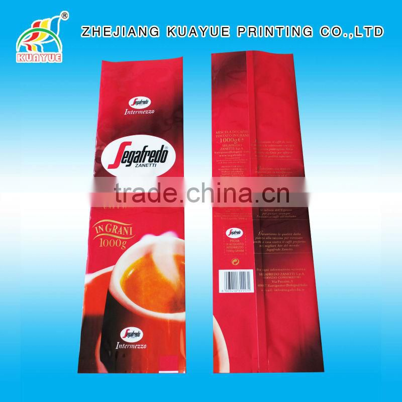 Customized Durable One-way Valve Coffee Packing Bags, Coffee Plastic Bag