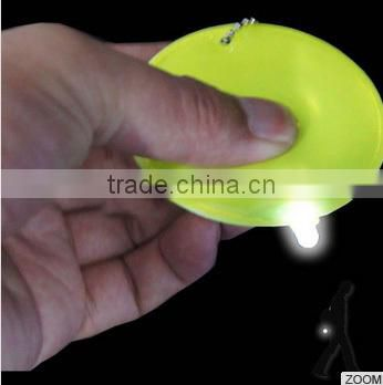 LED Soft Reflector, Reflective LED Tag, LED PVC Keychain