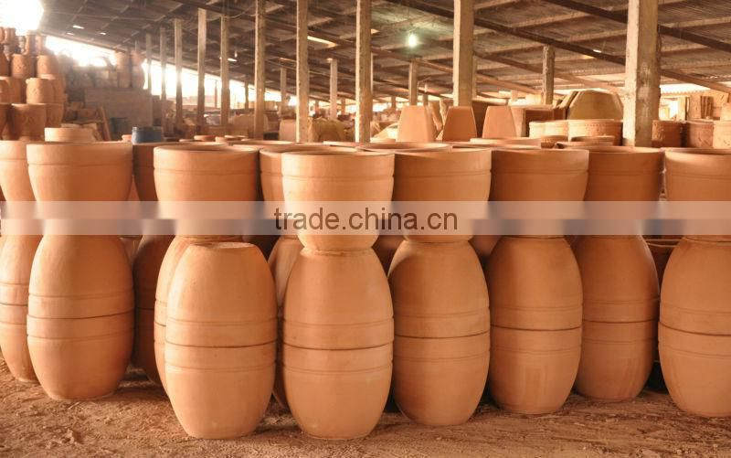 Viet nam pottery supplier-Terracotta Funny Animal Pots made from Viet Nam