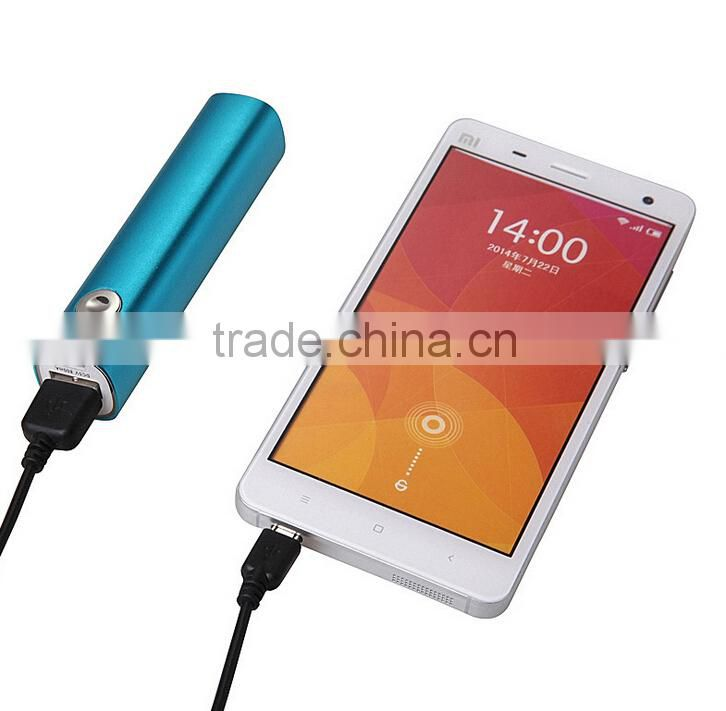 Bulk Buy from China 2200mah Power Bank Portable Battery with Flashlight Torch