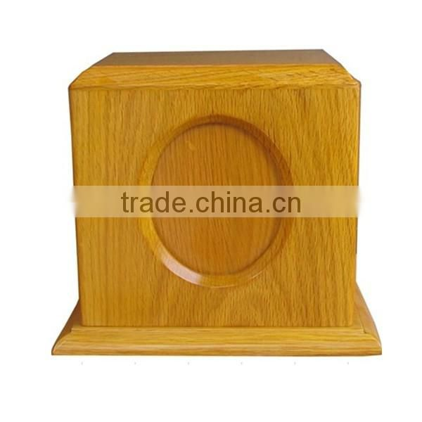 Wooden funeral urns for ashes with high quality