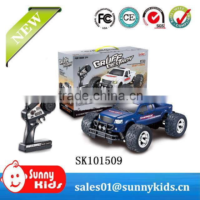 Cute 4channel RC engineering vehicle with light