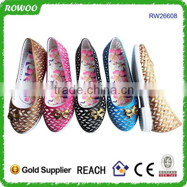 China Summer cheap Wedge pvc comfort shoes manufacturer