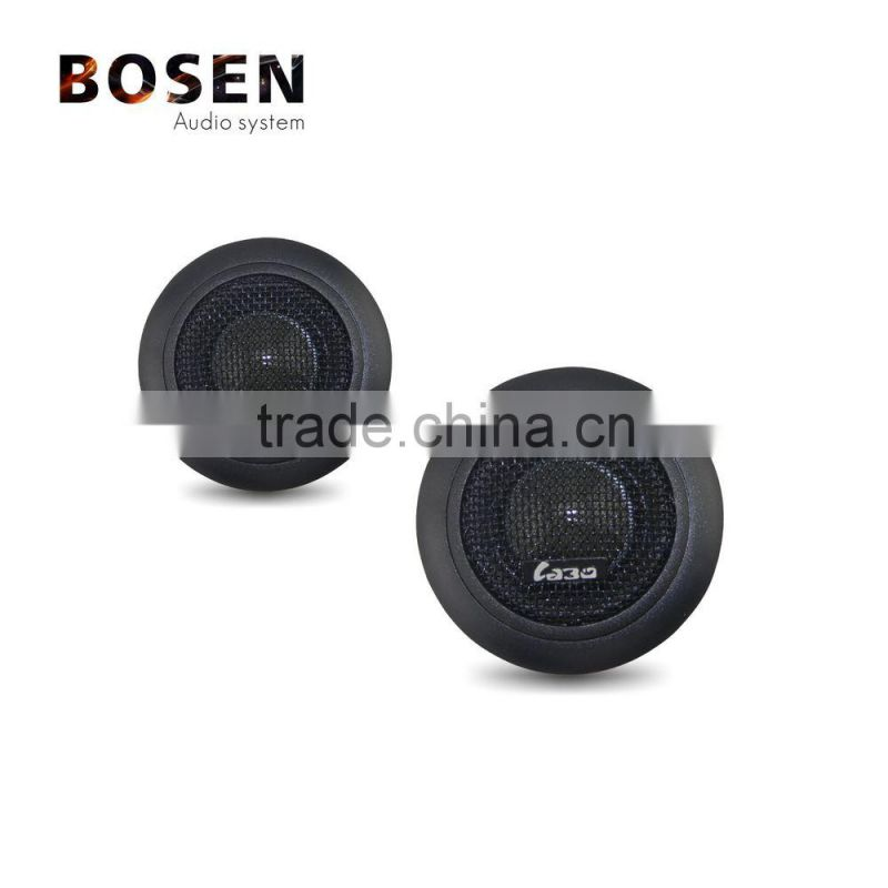 Transparent 25mm ASV voice coil music silk dome tweeter car speaker