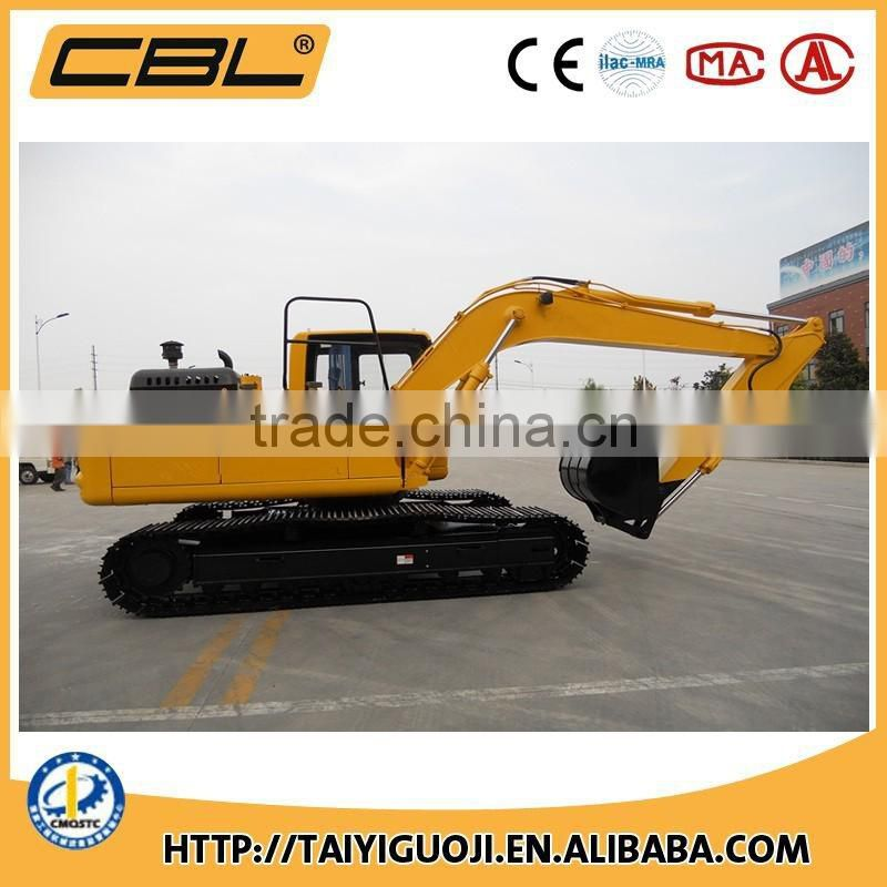 15 tons New Condition crawler hydraulic excavators