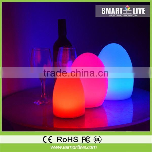 fancy chair cover Interactive Led Sofa color change for outdoor mobile bar counter