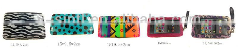 NEW design Knitting surface Frame wallet