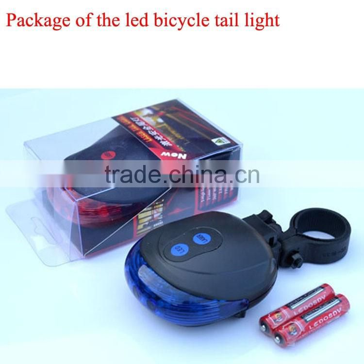 led bicycle tail light laser bicycle light waterproof led bicycle light led bicycle tail light