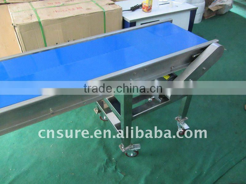 food grade plastic belt conveyor