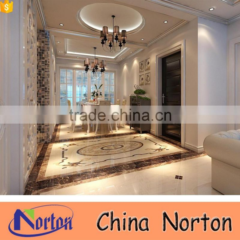 Cheap europe design home decorative marble medallion floor NTMS-MM011A
