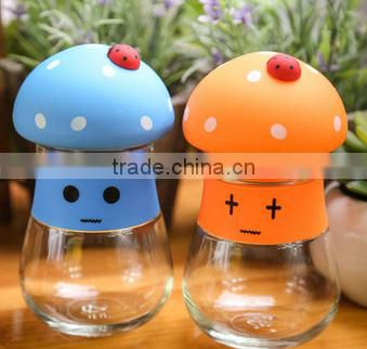 Mushroom water bottle 320ML