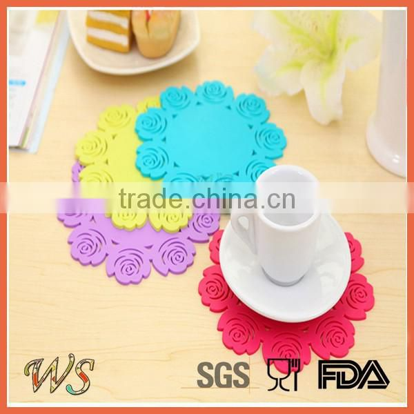 WS- IS066 Silicone Cup Coaster Set