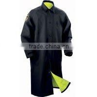 Black Military Raincoat