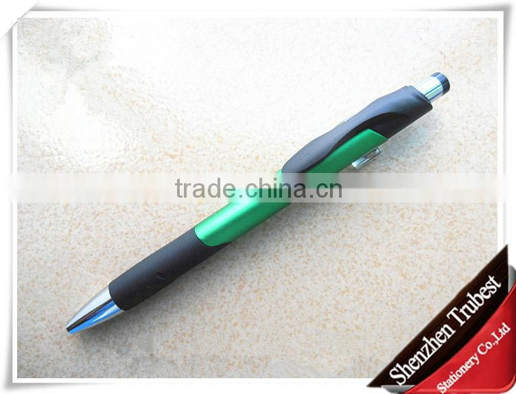 Fashion design hot sell cheap plastic ball pen with logo