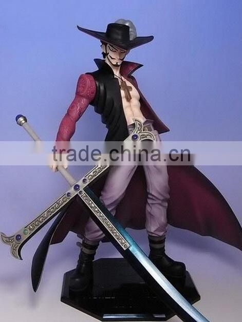 Collect the one piece of resin characters,the cartoon one piece character modelling