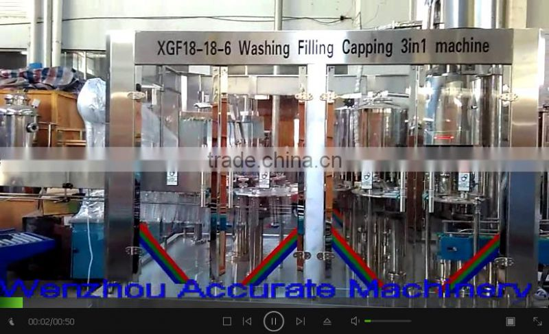 Better Quality Blowing Filling Capping Bottling Machine