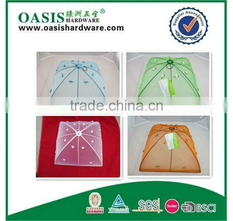 mesh food cover Polyester mesh food cover Net Food Cover /New collapsible portable ofawidevariety beautiful Food cover