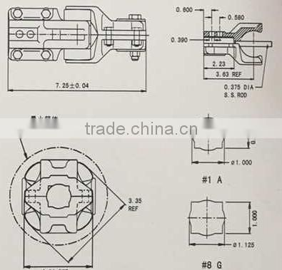 7/8 pivot coupling for Agriculture Irrigation System