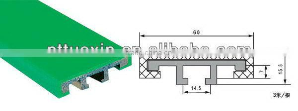 Aluminum Guardrail G7,side guide