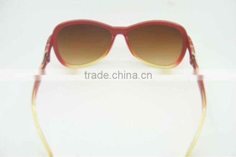 2012-2013fashion metal link sunglasses for women/OEM custom logo sunglass