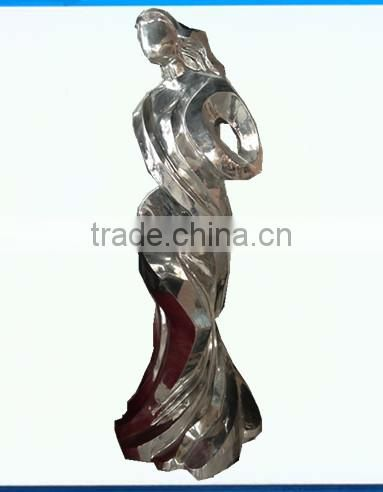 Large Celebration Outdoor Stainless Steel Sculpture