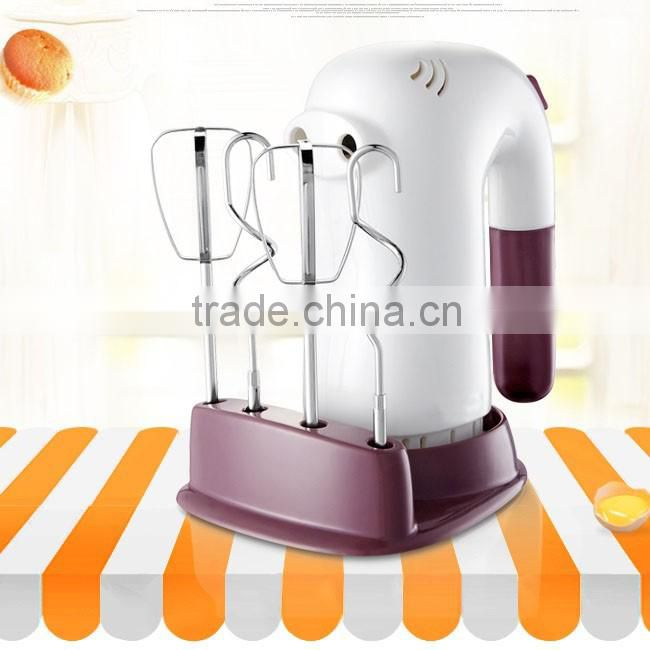 New Style High Quality Plastic Electric Egg Shaker Hand Mixer With Tray