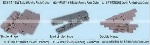 plastic modular belt for conveyor