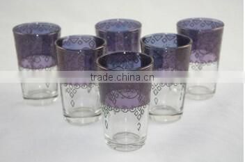 attractive and durable moroccan tea glasses wholesale