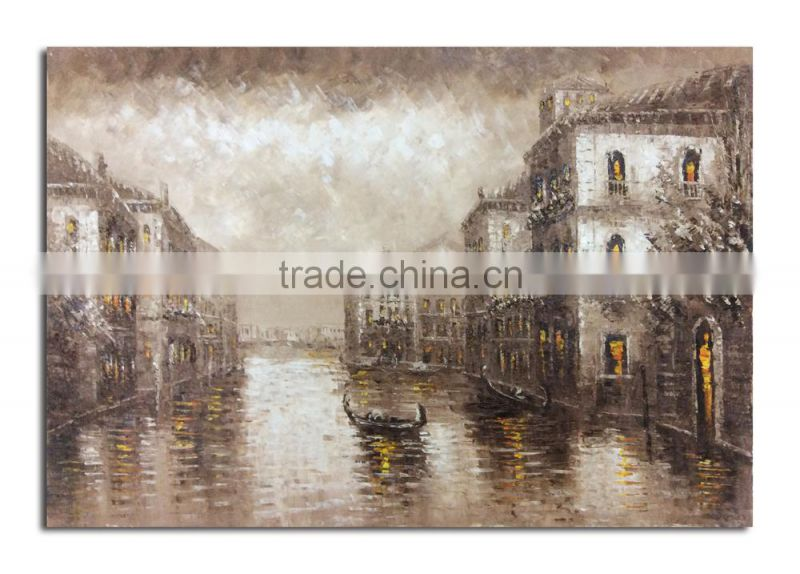 Venice Nightview Oil Painting