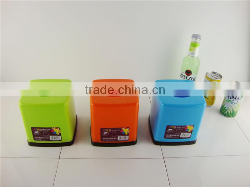 Cheap price new design plastic decorate tissue box