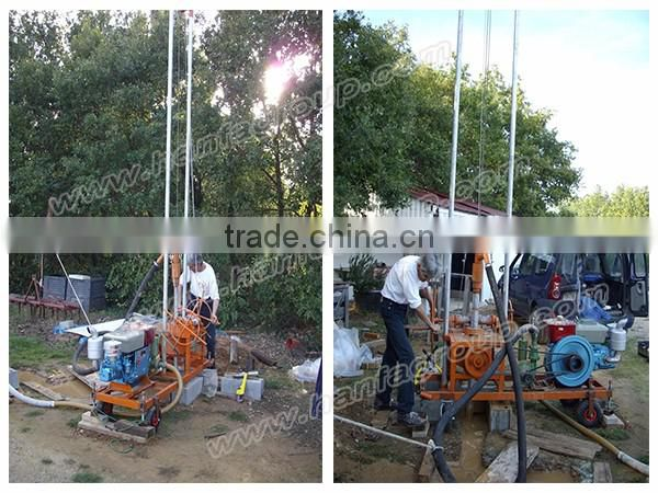 HF80 Portable type water well drilling machine