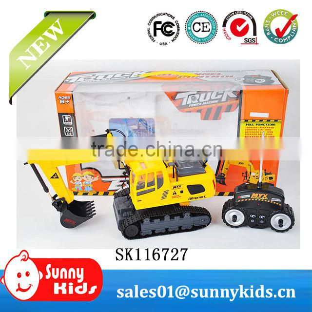 Cheap rc engineering vehicle rc pulling truck