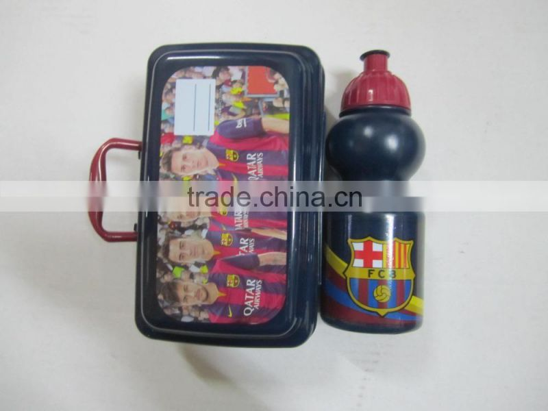 Alibaba high quality lunch box with bottle with new design