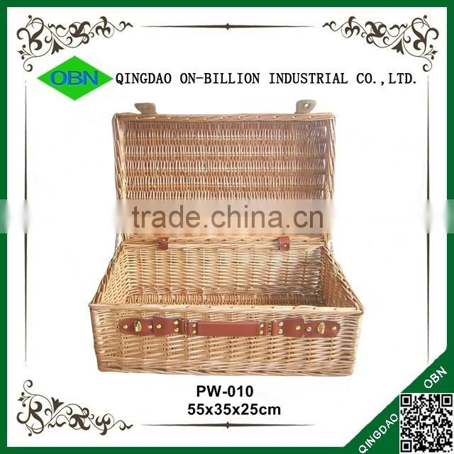Bulk cheap wholesale empty wicker picnic baskets