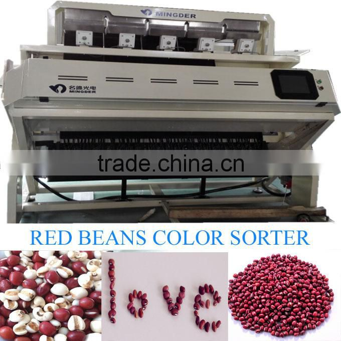 Sesame seeds color sorting machine, sesame seeds processing machine