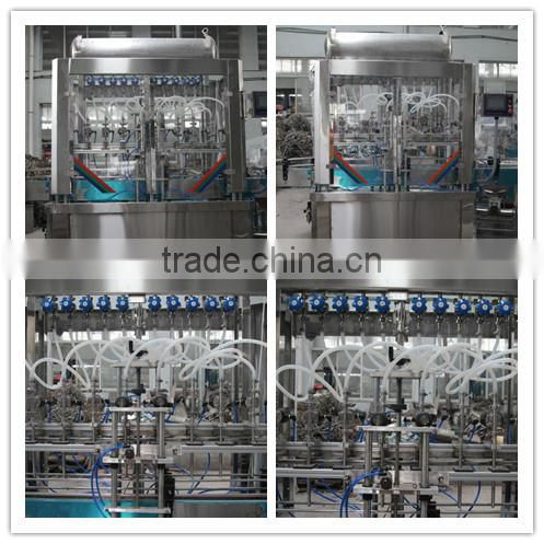 semi Automatic milk bottle filling machine filling capping machine